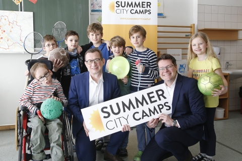 Summer CIty Camps Anmeldestart © PID/Martin Votava